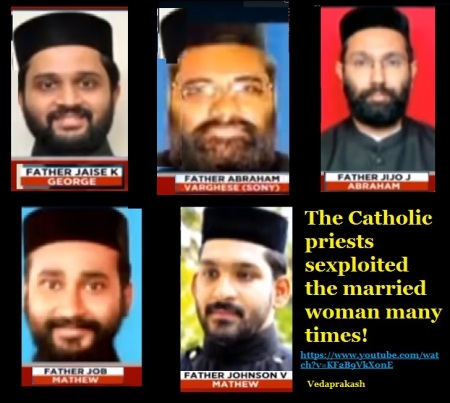 The Catholic priests sexploited woman many times-TIMES Now