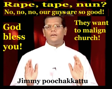 fr jimmy poochakkattu on the tape- nun rape case