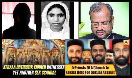 Kerala church crimes increasing