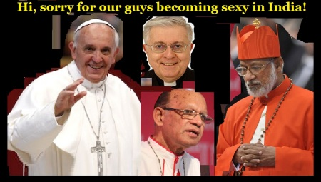Pope, Cardinal, bishop - in India what they do